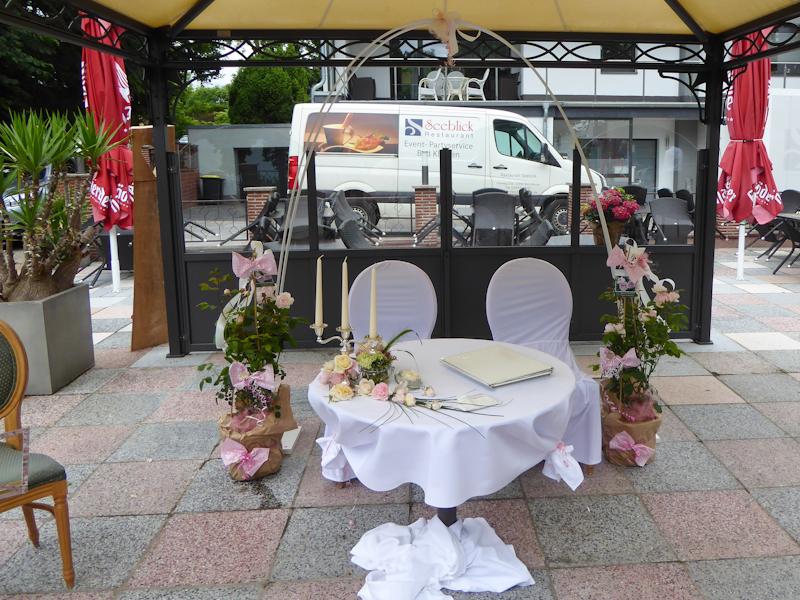 Hochzeitsfloristik Ina Urban Triwalk